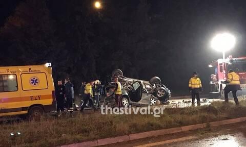 Τραγωδία στην άσφαλτο: Δύο νεκροί σε φρικτό τροχαίο στην Ε.Ο. Θεσσαλονίκης - Μουδανιών (pics+vid)