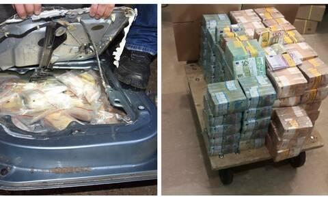 Αποκαλύψεις της ΕΛ.ΑΣ. για τη ληστεία «μαμούθ»: Έτσι στήθηκε το κόλπο – Πόσα χρήματα βρέθηκαν (pics)
