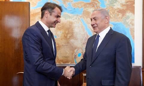 Τηλεφώνημα Νετανιάχου σε Μητσοτάκη - Τι συζήτησαν οι πρωθυπουργοί Ελλάδας και Ισραήλ