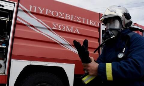 Πανικός στην Εθνική Οδό Αθηνών – Λαμίας: «Έσκασε» τουρμπίνα αυτοκινήτου (photos)