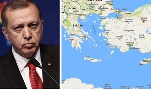 Δραματικές εξελίξεις: Θέμα «γκρίζων ζωνών» στο Αιγαίο θέτει ο Ερντογάν