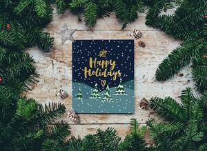 Απίστευτη ιστορία: 6χρονη βρήκε «ματωμένη» χριστουγεννιάτικη κάρτα σε σούπερ μάρκετ (pics)