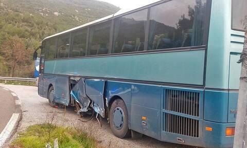 Καβάλα: Αυτοκίνητο συγκρούστηκε με λεωφορείο - Τρόμος για τους επιβάτες