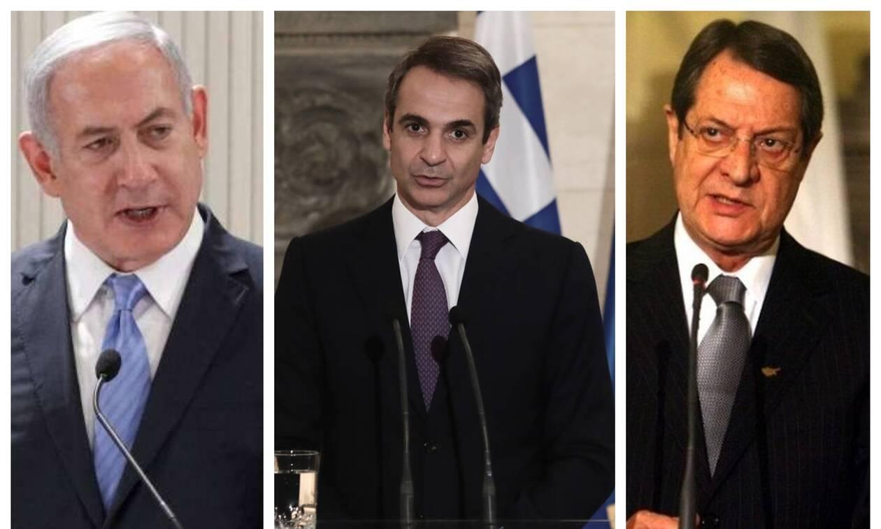 Διπλωματικός «πυρετός» στην Μεσόγειο: Η συμμαχία των τεσσάρων που «στριμώχνει» τον Ερντογάν