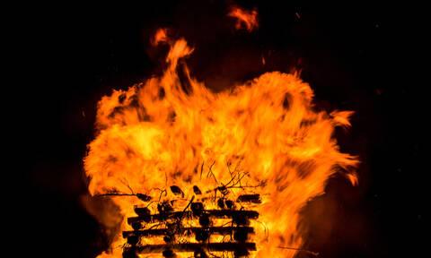Μεγάλες φωτιές στη Φλώρινα - Τι συνέβη (pics)