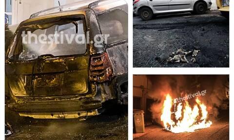 Θεσσαλονίκη: Πυρπόλησαν αυτοκίνητο Τούρκου διπλωμάτη (pics+vid)