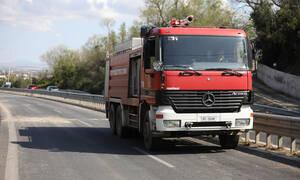 Συναγερμός στην Πυροσβεστική: Μεγάλη πυρκαγιά σε αποθήκη στη Θεσσαλονίκη (pics+vid)