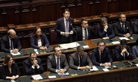 Ιταλία: Η κυβέρνηση του Τζουζέπε Κόντε έλαβε ψήφο εμπιστοσύνης