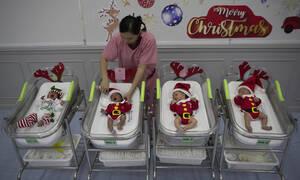 Άγιος Βασίλης: Ο μεγάλος πρωταγωνιστής των γιορτών είναι ΠΑΝΤΟΥ (pics)