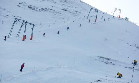 Χιονοθύελλα στο Καϊμακτσαλάν - Κλειστό το χιονοδρομικό κέντρο