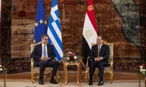Τηλεφωνική επικοινωνία Μητσοτάκη με τον Αιγύπτιο Πρόεδρο