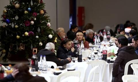Χριστούγεννα 2019: Γεύμα αγάπης από το Δήμο Αθηναίων για τις ευπαθείς κοινωνικές ομάδες