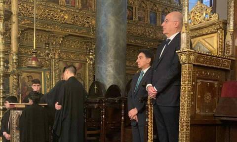 Συνάντηση Νίκου Δένδια με Πατριάρχη Βαρθολομαίο- Μήνυμα αγάπης από το Φανάρι