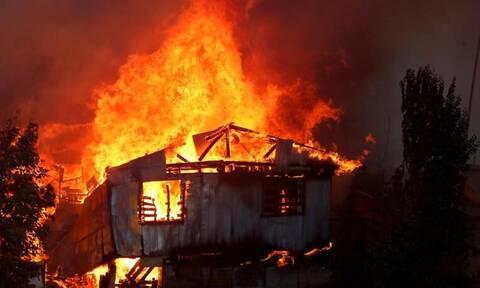 Πύρινη κόλαση στην Χιλή - 150 σπίτια έγιναν στάχτη