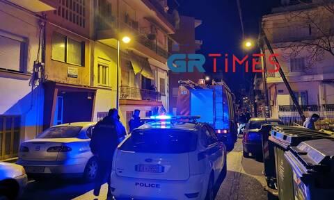 Συναγερμός στη Θεσσαλονίκη: Φωτιά σε διαμέρισμα