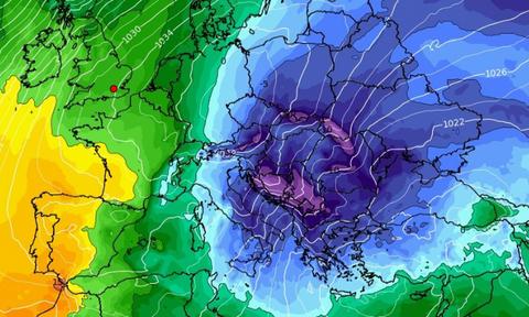 Καιρός: Προ των πυλών η πρώτη σοβαρή ψυχρή εισβολή! Πού θα χιονίσει; Δείτε τους χάρτες (videos)