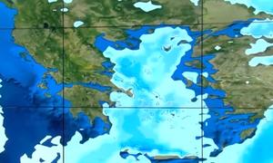 Καιρός: Aegean Effect! Το φαινόμενο που θα φέρει... χιόνι και στα βόρεια προάστια της Αθήνας (Video)