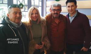 Οι Χριστουγεννιάτικες βόλτες της Γεννηματά στο Ναύπλιο