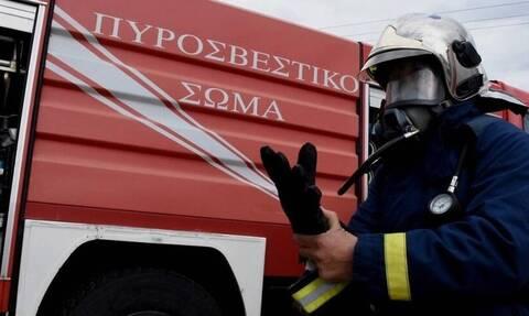 Αγρίνιο: Κάηκε ολοσχερώς διώροφη μονοκατοικία στα Τριαντέικα