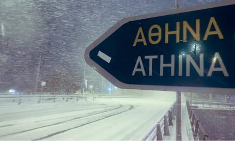 Κακοκαιρία: Η Ζηνοβία φέρνει χιόνια και στην Αττική – Πολικές θερμοκρασίες σε όλη την Ελλάδα