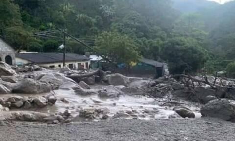Κολομβία: Οκτώ αγνοούμενοι από κατολίσθηση λάσπης