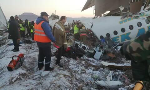 Καζακστάν: Τουλάχιστον 14 νεκροί από συντριβή αεροσκάφους