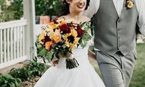 Δεν πάει καλα: Δες τι φόρεσε στο γάμο της αδερφής της!