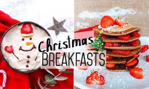 Δύο συνταγές για να φτιάξετε το πιο νόστιμο και γιορτινό πρωινό (vid)