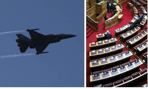 Βουλή: Υπεγράφη η ελληνοαμερικανική συμφωνία για την αναβάθμιση των F-16