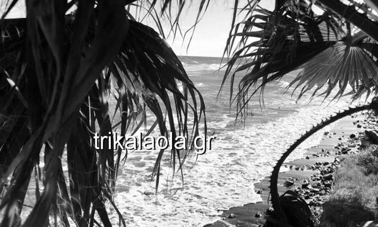 Κακοκαιρία: Η θάλασσα βρήκε στη στεριά στα Μεσάγκαλα Λάρισας