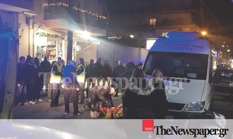 Βόλος: Τροχαίο ατύχημα με μηχανάκι - Σοκαριστικές εικόνες