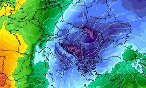 Καιρός: Διαδοχικές ψυχρές εισβολές φέρνει ο Γενάρης! Καρέ - καρέ η εξέλιξη της χιονοκαιρίας (videos)
