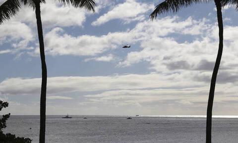 Ελικόπτερο με επτά επιβαίνοντες χάθηκε στη Χαβάη