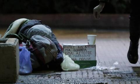 Κακοκαιρία: Έκτακτα μέτρα για την προστασία των αστέγων