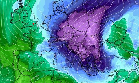Καιρός: Πού θα χιονίσει τις επόμενες ώρες! Διαδοχικές ψυχρές εισβολές μέχρι τις 13 Γενάρη (video)