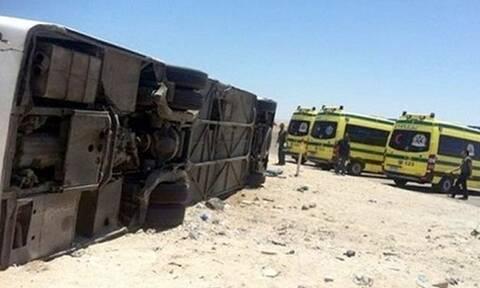 Θρήνος στην Αίγυπτο: 22 νεκροί σε φρικτό τροχαίο
