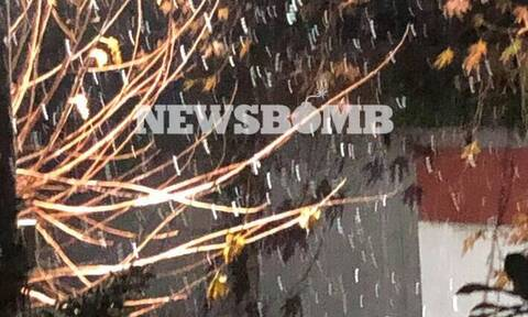 Καιρός: Χιονίζει ΤΩΡΑ στην Αττική - Ξεκίνησε η επέλαση της «Ζηνοβίας»