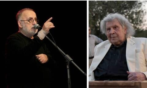 Ο Μίκης Θεοδωράκης για τον θάνατο του Θάνου Μικρούτσικου: «Τον αποχαιρετώ με οδύνη και πικρία»