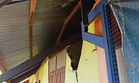 Τους έκλεψαν διαλύοντας τον τοίχο του σπιτιού τους - Δεν μπορούσαν να πιστέψουν ποιος ήταν ο «ένοχος