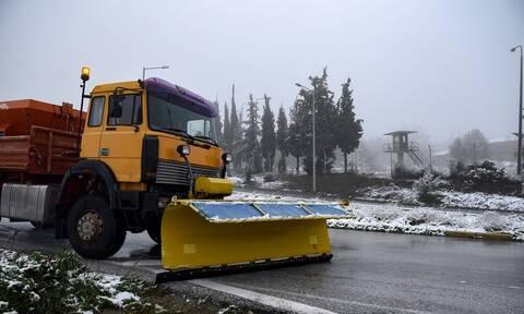 Κακοκαιρία «Ζηνοβία»: Απαγορεύτηκε η κυκλοφορία των λεωφορείων στην Αθηνών – Λαμίας