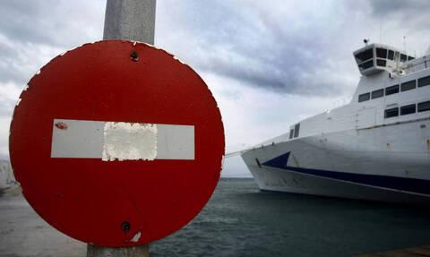 Κακοκαιρία «Ζηνοβία»: Δεμένα τα πλοία στα λιμάνια