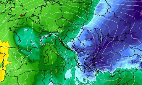 Καιρός: Ερχεται νέα ψυχρή εισβολή! Πού θα χιονίσει! Κακοκαιρία και τα Φώτα (Videos)
