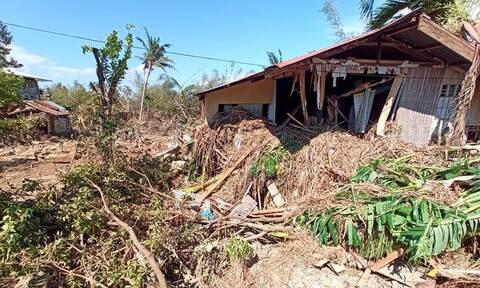 Φιλιππίνες: Εικόνες Αποκάλυψης από τον τυφώνα Φανφόν - Τουλάχιστον 50 νεκροί
