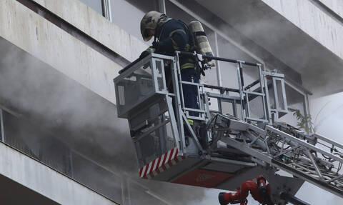 Μοσχάτο: Φωτιά σε διαμέρισμα