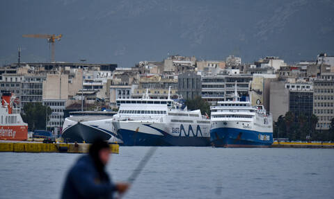 Αυτό είναι το πλοίο που έκανε ποδαρικό στο λιμάνι του Πειραιά για το 2020