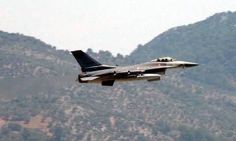 Νέες προκλήσεις: Υπερπτήσεις τουρκικών F-16 πάνω από Οινούσσες και Παναγιά