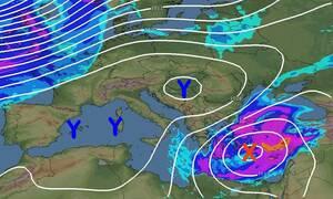 Καιρός: Προσοχή! Προειδοποίηση Μαρουσάκη για την ψυχρή εισβολή και τις χιονοπτώσεις (photos)