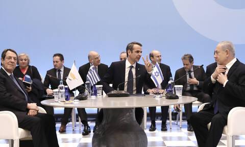 Μητσοτάκης: Ο EastMed δεν αποτελεί απειλή για κανέναν, είναι αγωγός ειρήνης και συνεργασίας