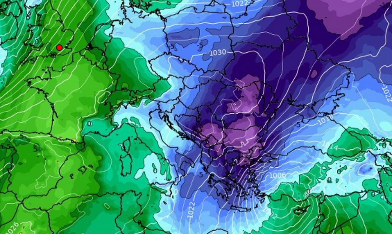 Καιρός: Καρέ - καρέ η ψυχρή εισβολή της Κυριακής με... διάθεση για χιόνια και στα πεδινά της Αττικής