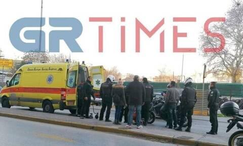 Θεσσαλονίκη: Οδηγός μηχανής παρέσυρε ηλικιωμένη (pics)